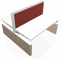 Markant MAX Panel-Range 2-Persoonsbureau