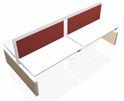 Markant MAX Panel-Range 4-Persoonsbureau