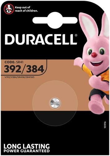 BATTERIJ DURACELL LR41 ALKALINE 392/384 1 Stuk