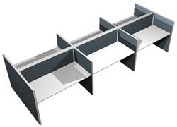 Bench Bureau MAX Screen Range 6 personen