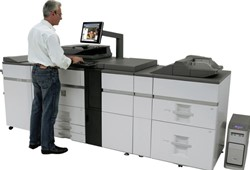 LASERPRINTER SHARP MX-7500N PRO SERIES KLEUREN MULTIFUNCTIONELE PRODUCTIEPRINTER
