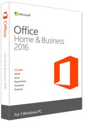 Microsoft Office 2016 Home & Business 1 PC (EN)