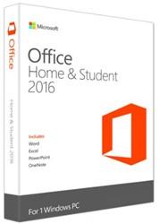 Microsoft Office 2016 Home & Student 1 PC (EN)