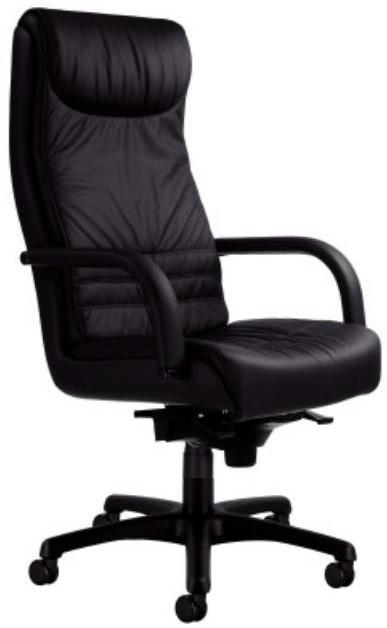 Ledere Bureau Stoel.Bureaustoel 880 P Met Kantel Neigh Mechanisme En Lederen Armleggers Per Stuk