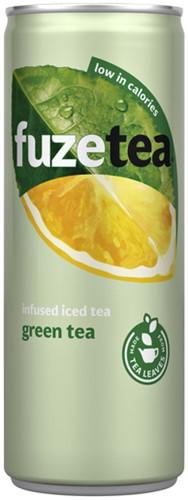 Frisdrank Fuze Tea green 250ml 25 Centiliter