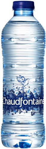 WATER CHAUDFONTAINE BLAUW FLES 0.50L 50 Centiliter