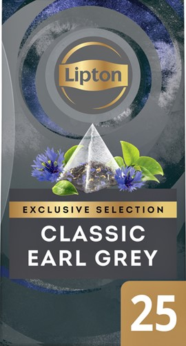 THEE LIPTON EXCLUSIVE EARL GREY 25 Stuk