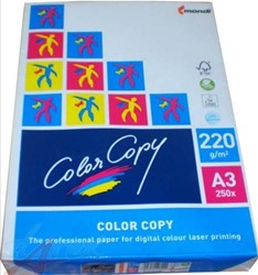 LASERPAPIER COLOR COPY A3 220GR WIT  1 PAK