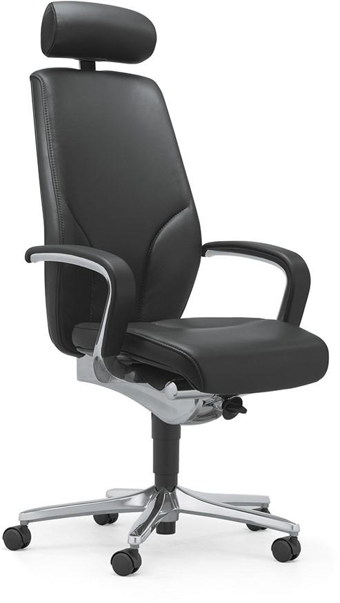 Bureaustoel Met Neksteun.Bureaustoel Met Hoofdsteun Voor Een Goede Zithouding