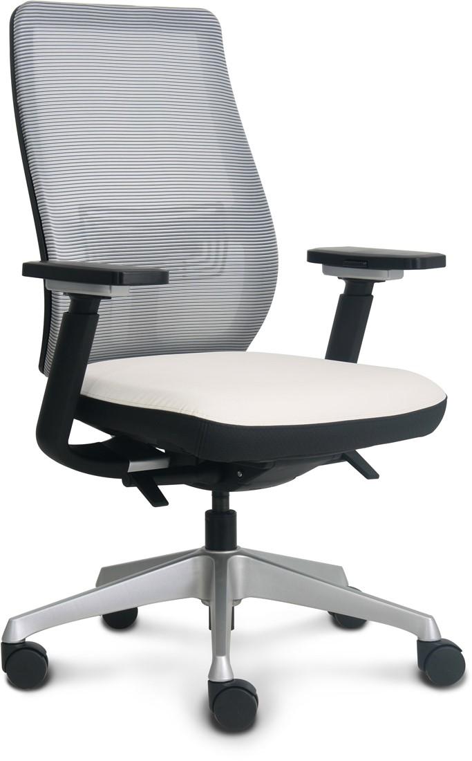 Design Bureaustoel Wit.Bureaustoel Vls 05 Design One Stop Office Shop Nl