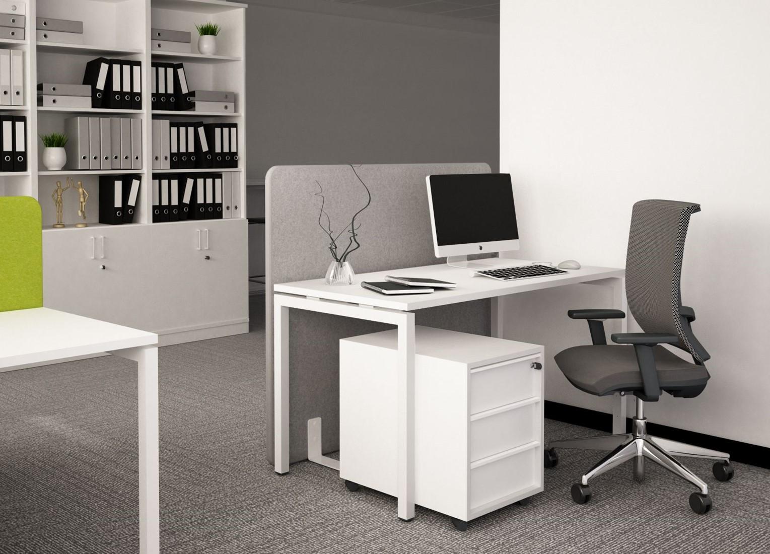bench bureau nova u 2 x 180 x 80 cm geen u walnoot wit vaste hoogte 74 cm bij van lith. Black Bedroom Furniture Sets. Home Design Ideas