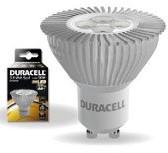 DURACELL LED S1 SPOT HELDER 5W GU10 220 LM 3000K DIMBAAR 1 STUK