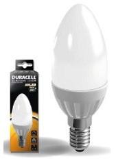 DURACELL LED C5 KAARS MAT 3.5W E14 220LM 3000 DIMBAAR 1 STUK