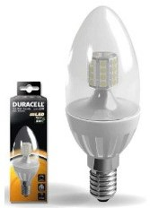 DURACELL LED C2 KAARS HELDER 3.5W E14 230LM 300K DIMBAAR 1 STUK