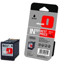 INKTCARTRIDGE OLIVETTI IN501 (B0508) ZWART