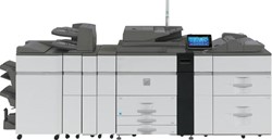 LASERPRINTER SHARP MX-M1204N PRODUCTIE ZWART-WIT MULTIFUNCTIONELE PRODUCTIEPRINTER