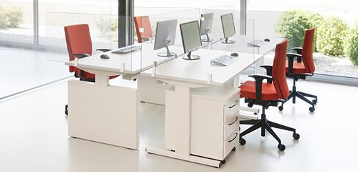 Cat - Transparante bureauschermen