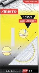 GEODRIEHOEK ARISTO 1555/2 225MM MET GREEP 1 Stuk
