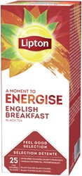 THEE LIPTON ENERGISE ENGLISH BREAKFAST 1.5GR 25 Stuk
