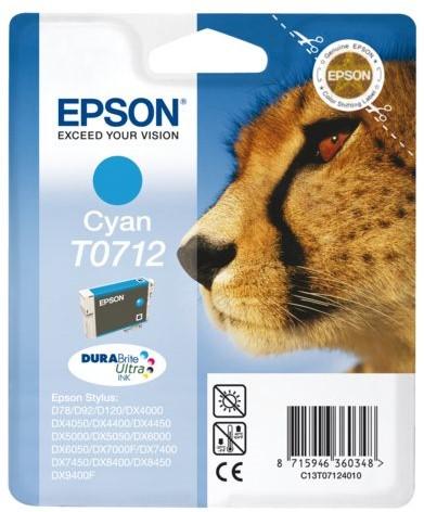 INKCARTRIDGE EPSON T071240 BLAUW 1 Stuk