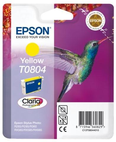 INKCARTRIDGE EPSON T080440 GEEL 1 Stuk
