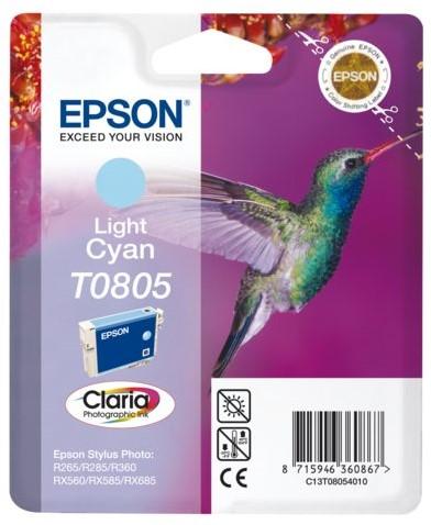 INKCARTRIDGE EPSON T080540 LICHT BLAUW 1 Stuk