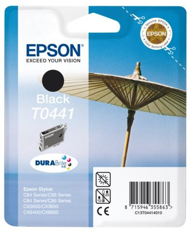 INKCARTRIDGE EPSON T044140 ZWART 1 Stuk