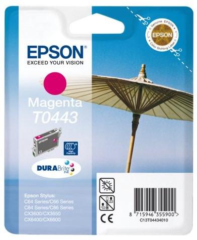 INKCARTRIDGE EPSON T044340 HC ROOD 1 Stuk