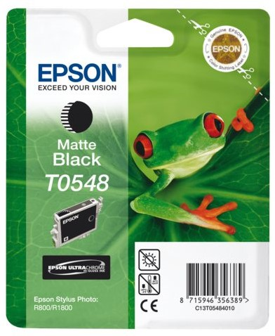 INKCARTRIDGE EPSON T054840 MAT ZWART 1 Stuk