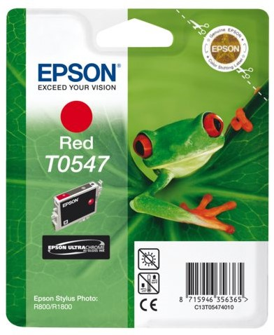 INKCARTRIDGE EPSON T054740 ROOD 1 Stuk