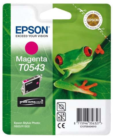 INKCARTRIDGE EPSON T054340 ROOD 1 Stuk
