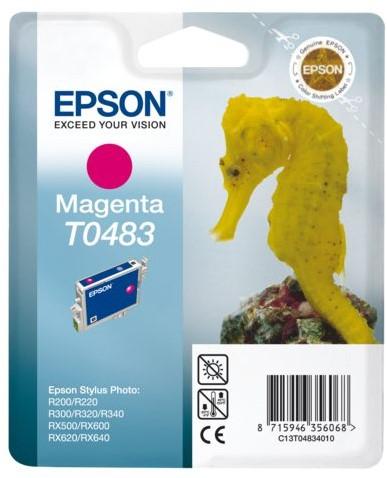 INKCARTRIDGE EPSON T048340 ROOD 1 Stuk