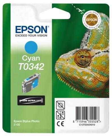 INKCARTRIDGE EPSON T034240 BLAUW 1 Stuk
