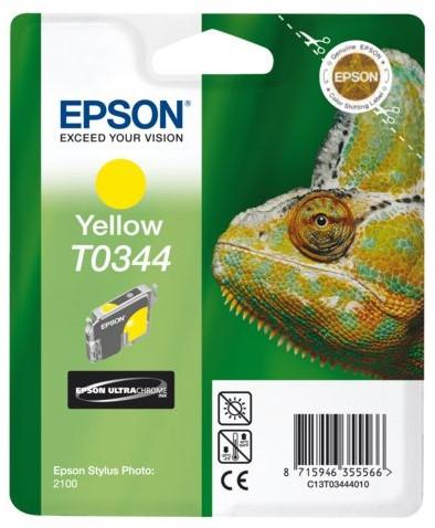 INKCARTRIDGE EPSON T034440 GEEL 1 Stuk