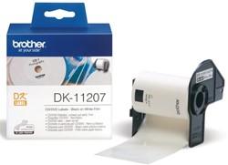 LABEL ETIKET BROTHER DK-11207 58MM CD/DVD WIT 100