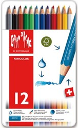 KLEURPOTLOOD CARAN D'ACHE FANCOLOR 12 Stuk
