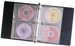CD OPBERGTAS FELLOWES 7RINGS VOOR 2CD 10 Stuk