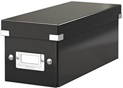 CD-BOX LEITZ CLICK&STORE 127X124X320MM ZWART 1 Stuk