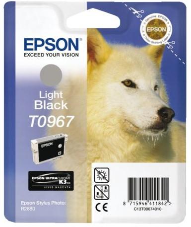 INKCARTRIDGE EPSON T096740 LICHT ZWART 1 Stuk