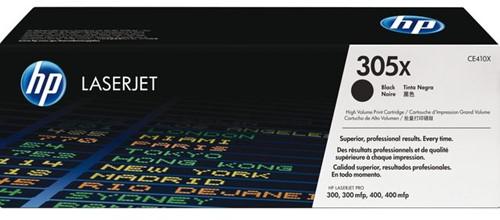 TONERCARTRIDGE HP 305X CE410X 4K ZWART 1 Stuk