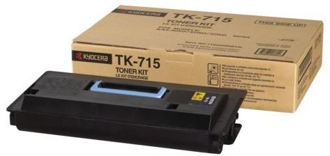 TONER KYOCERA TK-715 35K ZWART 1 Stuk