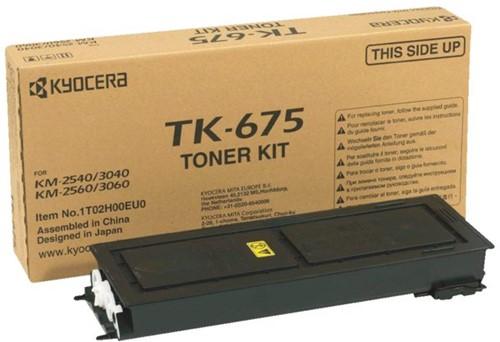 TONER KYOCERA TK-675 20K ZWART 1 Stuk