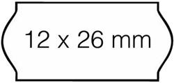 PRIJSETIKET OPEN-DATA C6 AFNEEMBAAR WIT 1500 Stuk