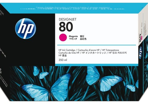 INKCARTRIDGE HP 80 C4847A ROOD 1 Stuk