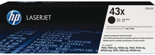 TONERCARTRIDGE HP 43X C8543X 30K ZWART 1 Stuk