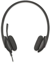 HEADSET LOGITECH H340 ON EAR USB ZWART 1 Stuk