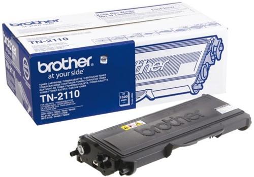 TONER BROTHER TN-2110 1.5K ZWART 1 Stuk