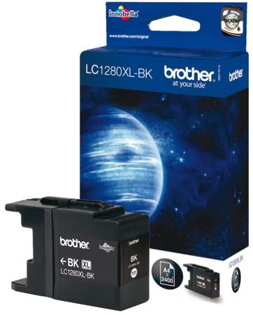 INKCARTRIDGE BROTHER LC-1280XL ZWART 1 Stuk