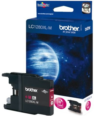 INKCARTRIDGE BROTHER LC-1280XL ROOD 1 Stuk