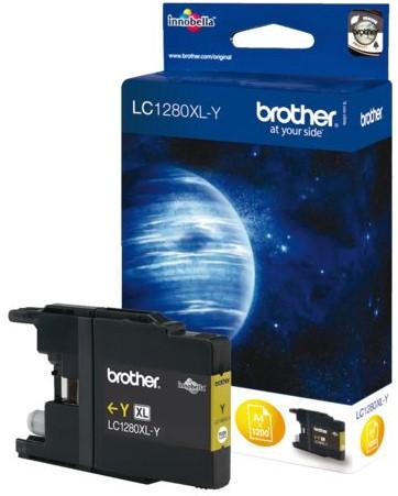 INKCARTRIDGE BROTHER LC-1280XL GEEL 1 Stuk